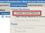 Virtual Machines Tab